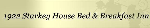 1922 Starkey House Bed and Breakfast on Seneca Lake